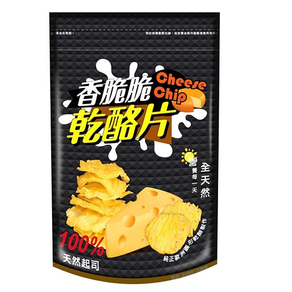 [和旌] 香脆脆乾酪片 (原味) 45g /包 (18倍牛乳濃縮) 蛋白質