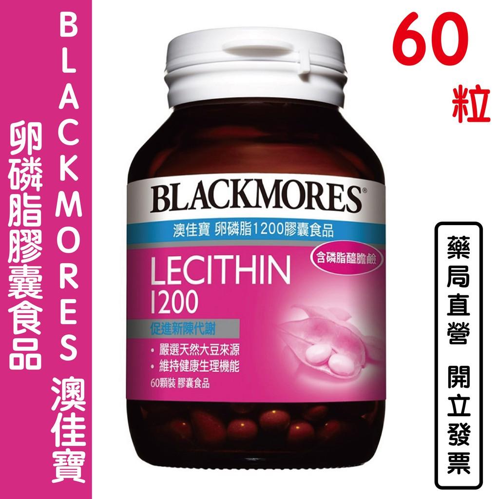 BLACKMORES 澳佳寶 卵磷脂膠囊食品(60顆)【元康藥局】