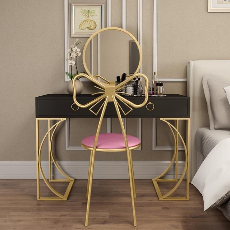 耘記梳妝台臥室現代簡約小戶型網紅ins風梳妝桌化妝台收納櫃一體