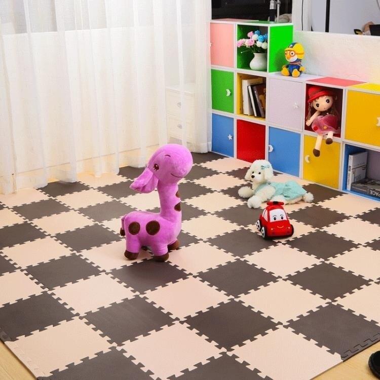 兒童臥室寶寶爬行墊拼接 拼圖地板墊子