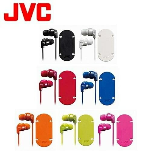 JVC 吸盤式捲線器耳道式耳麥 HA-FR21-G 綠色