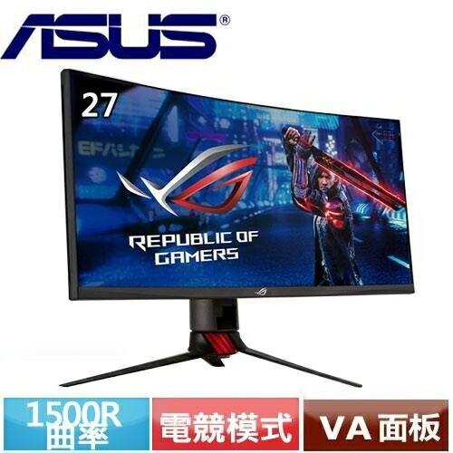 ASUS華碩 27型 2K VA曲面電競螢幕 XG27WQ