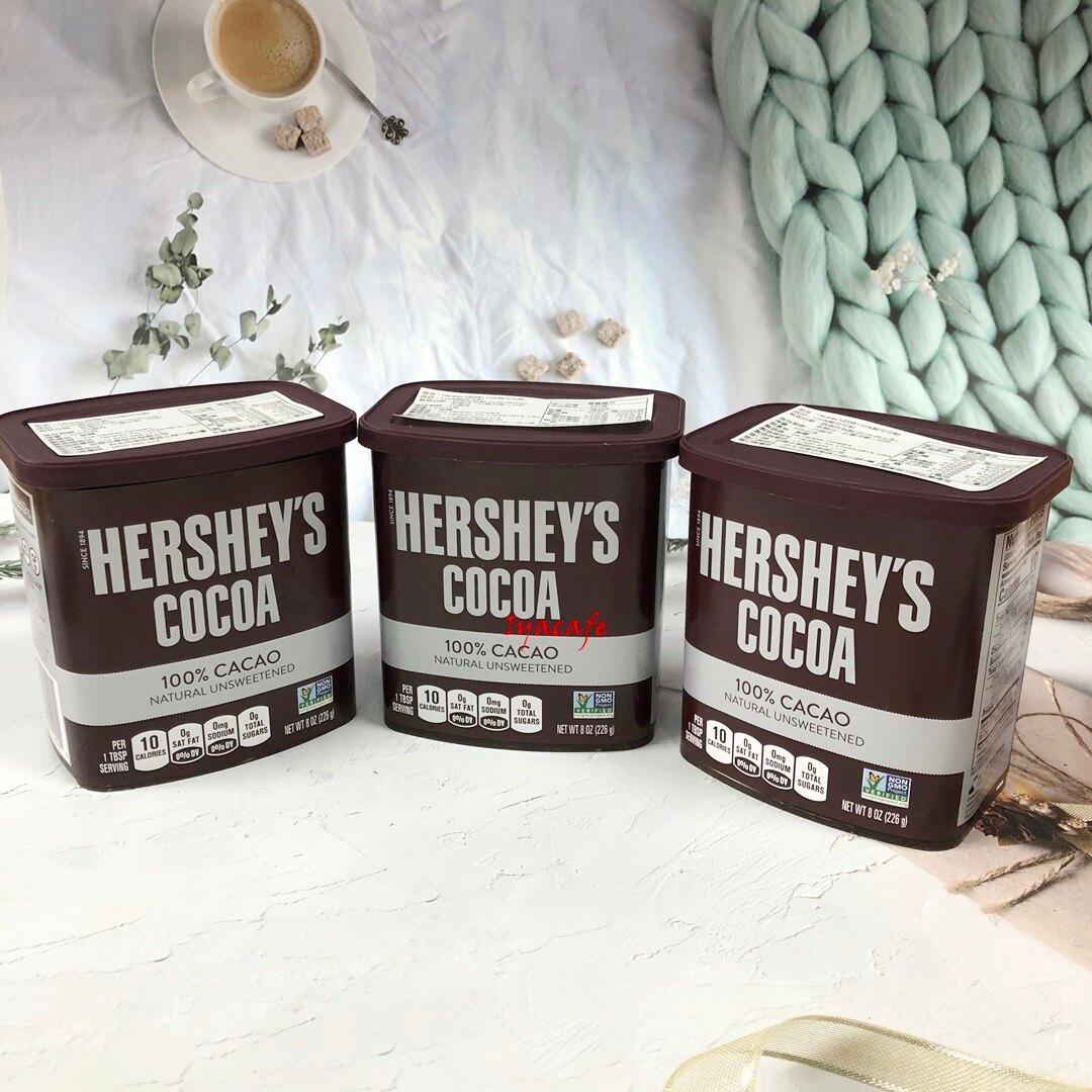 《愛鴨咖啡》HERSHEY'S 100% 無糖可可粉 賀喜可可粉 226g/8OZ