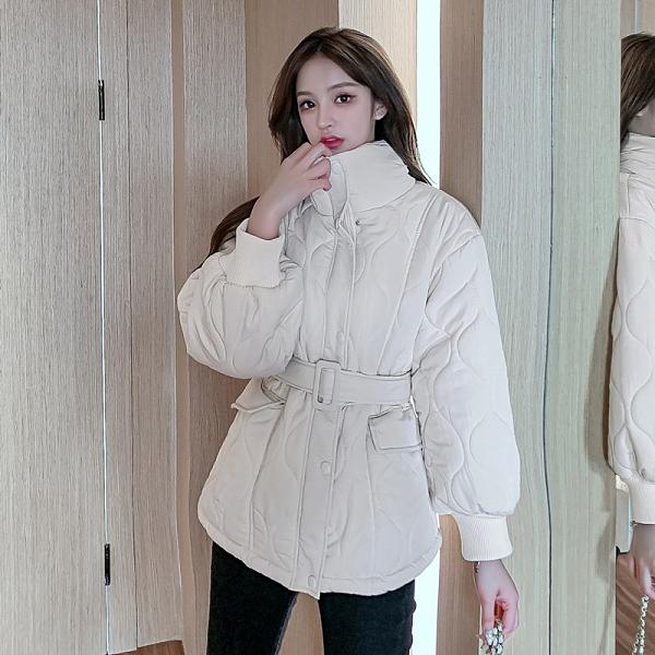 第二件4折 韓系棉服寬鬆棉襖收腰棉衣外套單品長袖上衣