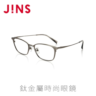JINS 鈦金屬時尚眼鏡(特AMTF16S711)