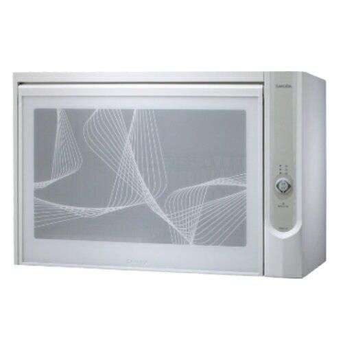 (含標準安裝)櫻花懸掛式臭氧殺菌烘碗機60cm(與Q600CW同款)烘碗機白色Q-600CW【三井3C】