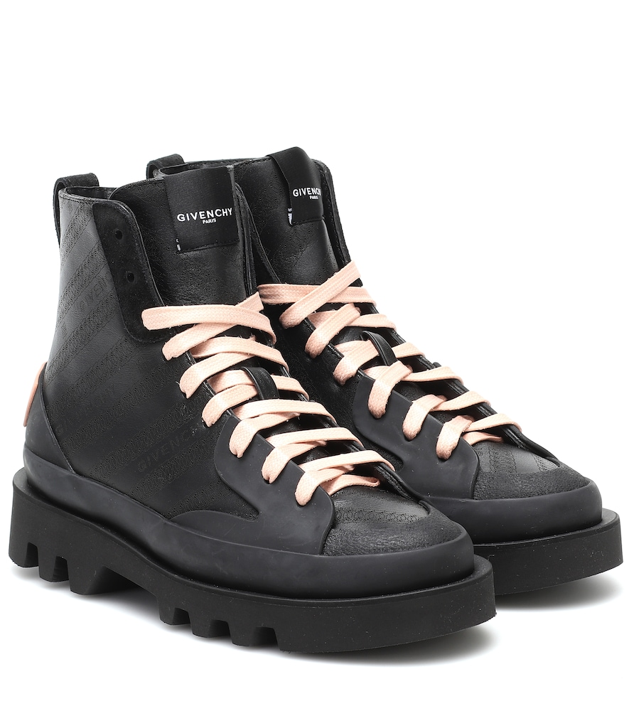 Clapham leather ankle boots