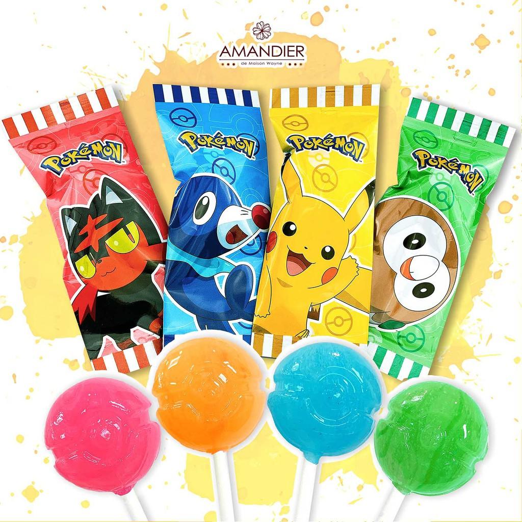 【雅蒙蒂文創烘焙禮品】寶可夢造型棒棒糖 (4種款式)