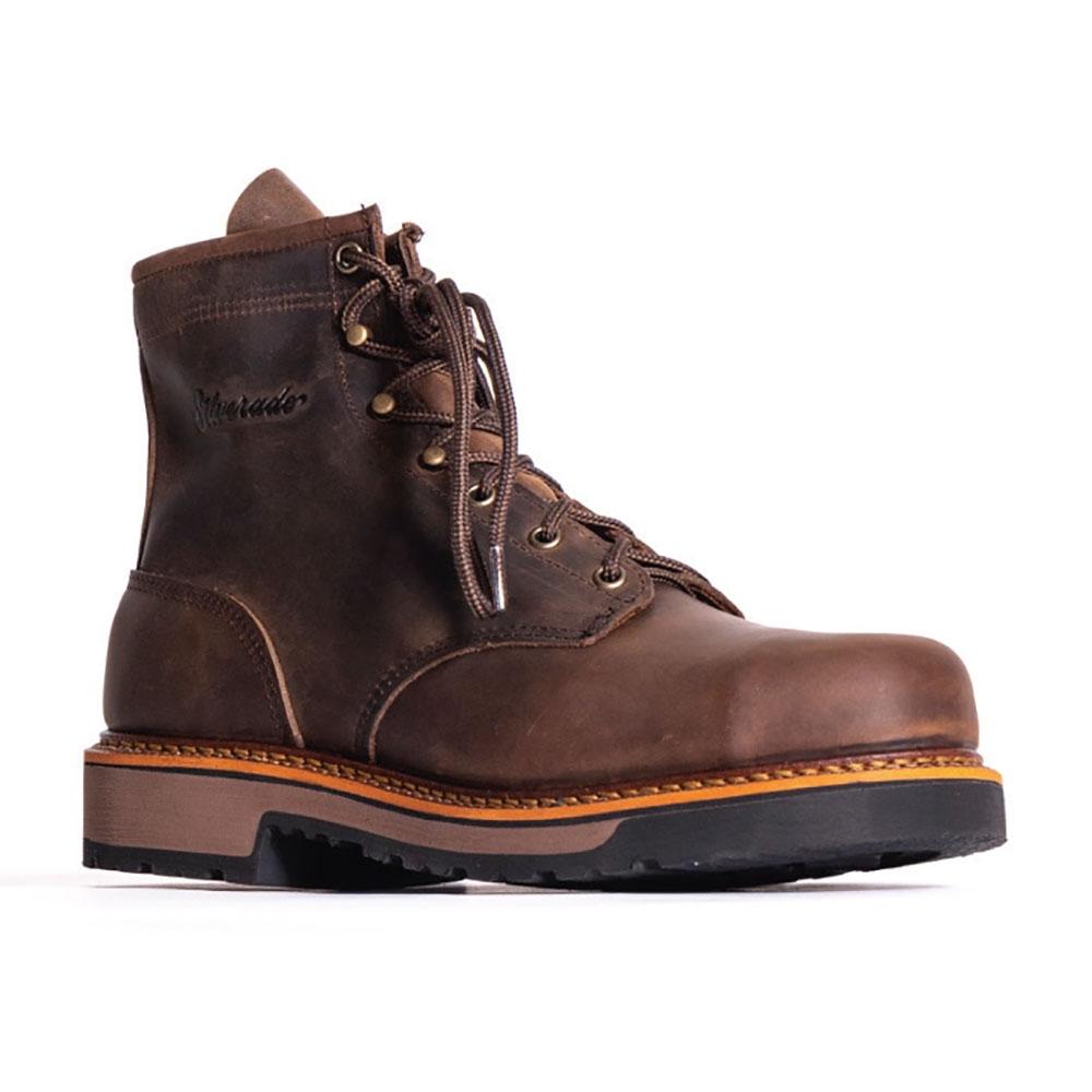 """Silverado by Abilene 6"""" Lumberjack (Steel Toe) - Mens Cowboy Boots"""