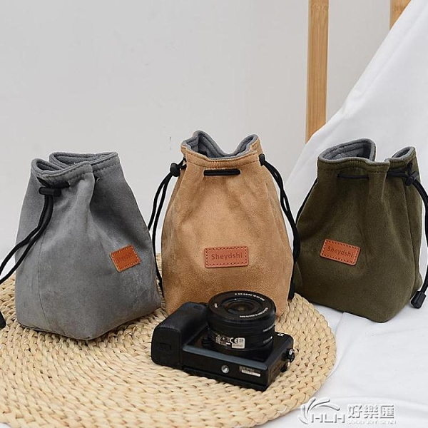 相機保護 微單保護套單反內膽包尼康佳能索尼富士便攜收納袋鏡頭攝影相機包 好樂匯