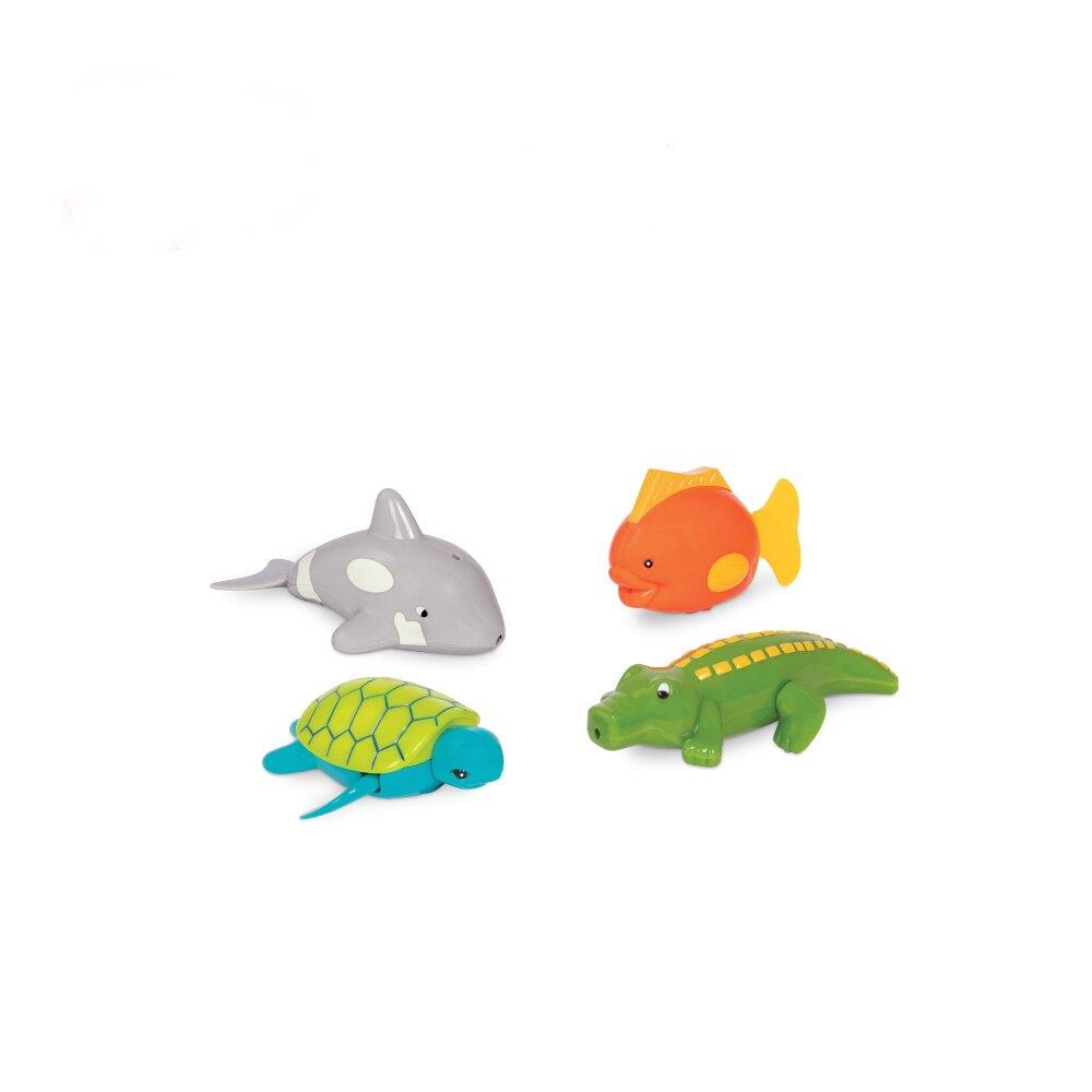 Battat 打水漂漂-嘻哈海龜(袋裝4pcs)