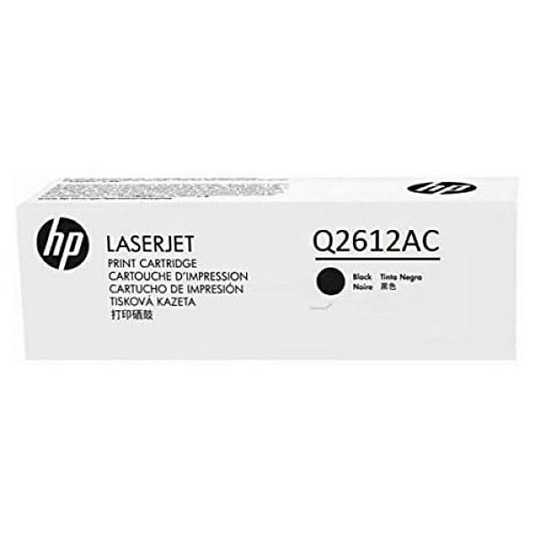 HP 惠普 LaserJet 原廠 黑色 碳粉匣 Q2612AC 白盒