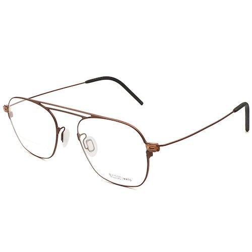 【VYCOZ】MATO BRN 光學眼鏡鏡框 MAX-Wire系列 橢圓方框眼鏡 飛官款眼鏡 棕 50mm
