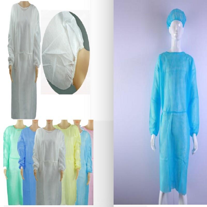 不織布限量出清防護衣隔離衣防塵衣防護服隔離服防塵服透氣 (非醫療防疫用)顏色隨機