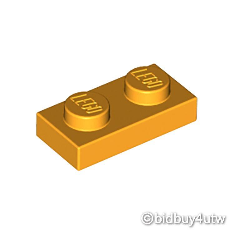 LEGO零件 薄板磚 1x2 3023 亮橘色 6028736【必買站】樂高零件