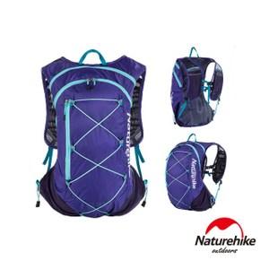 Naturehike GT02 超輕量15L越野跑步後背包紫色