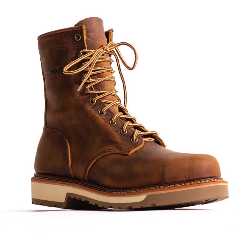 """Silverado by Abilene 8"""" Lumberjack (Steel Toe) - Mens Cowboy Boots"""