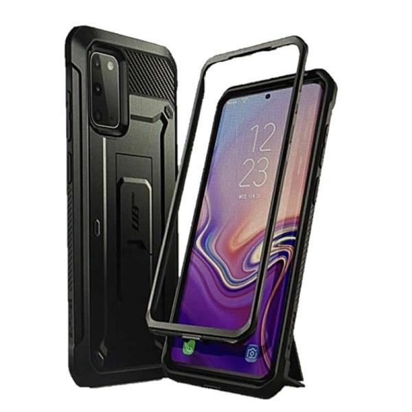 [9美國直購] SUPCASE UB Pro系列 Galaxy S20 Plus手機保護殼 Full-Body Dual Layer Rugged Holster & Kickstand黑/紫/寶藍