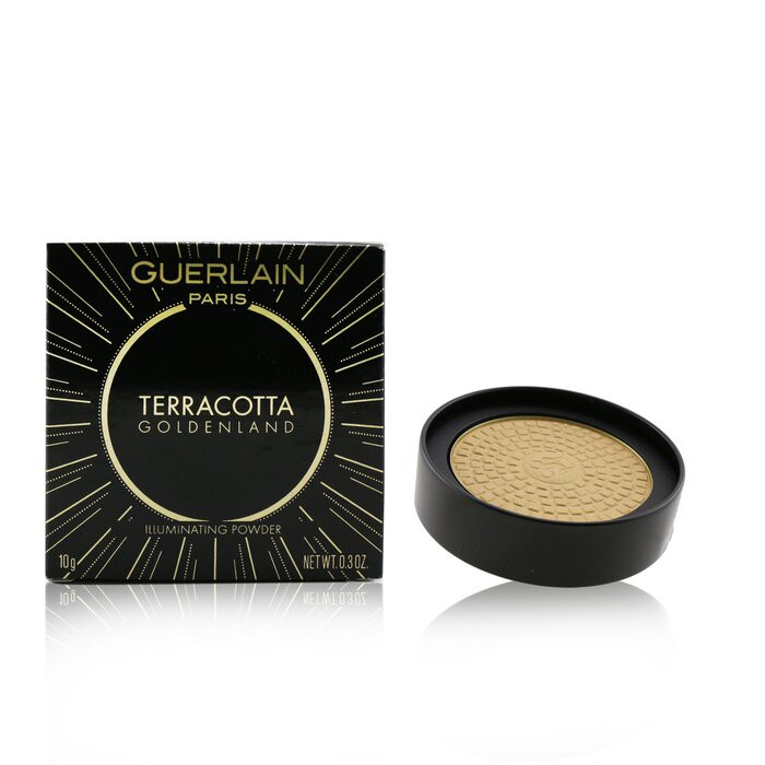 嬌蘭 - Terracotta Goldenland Illuminating Powder