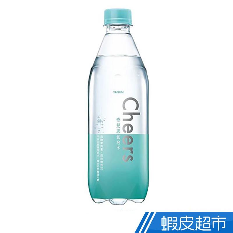 泰山 Cheers氣泡水 500mlx4入 國民飲料 低卡 泰山 氣泡水 現貨 蝦皮直送