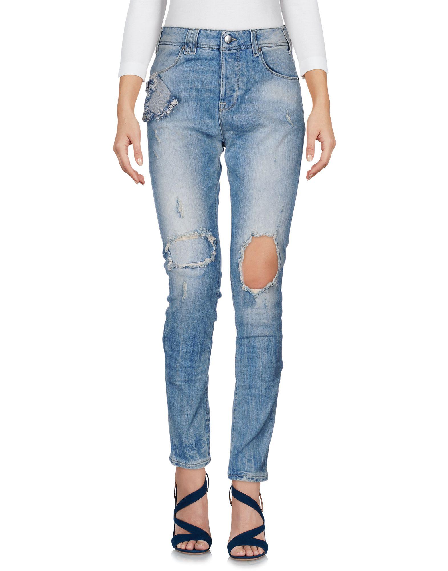 MET JEANS Denim pants - Item 42611375