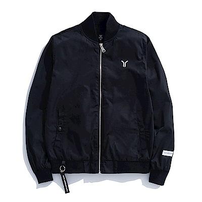 Y.A.S 美式極簡飛行夾克-黑