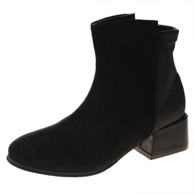KEITH-WILL時尚鞋館 時尚穿搭甜中短筒靴