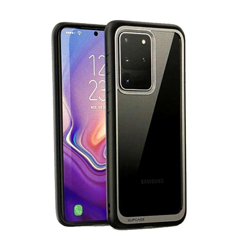 [9美國直購] SUPCASE UB 系列 Galaxy S20 Ultra手機保護殼 Premium Hybrid Protective Clear Case 黑