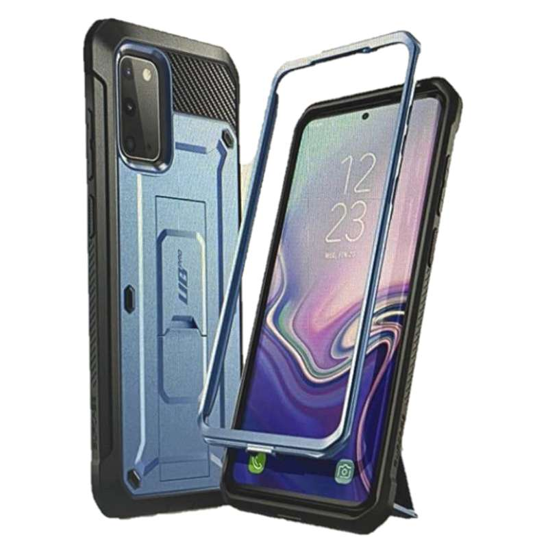 [9美國直購] SUPCASE UB Pro系列 Galaxy S20 Plus手機保護殼 Full-Body Dual Layer Rugged Holster & Kickstand Case 黑