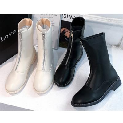 KEITH-WILL時尚鞋館 簡約兩穿中短筒靴