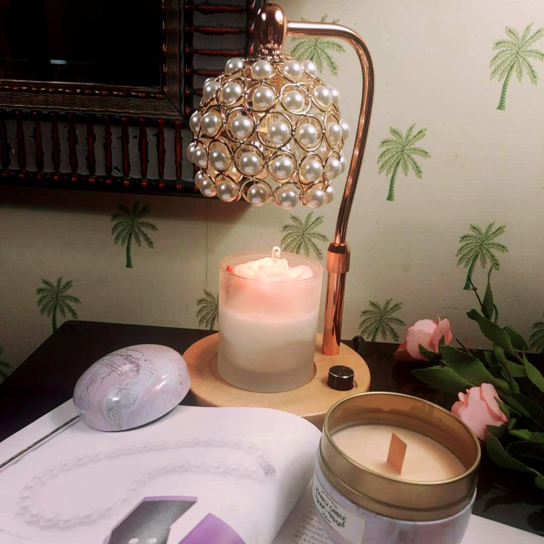 洛帆晞ins韓風《獨家》歐風奢華珍珠款融燭燈