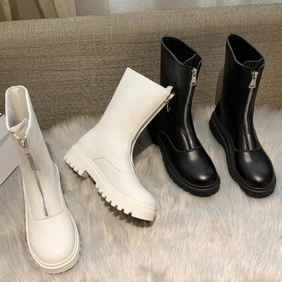 KEITH-WILL時尚鞋館 時尚穿搭優雅氣質中筒靴
