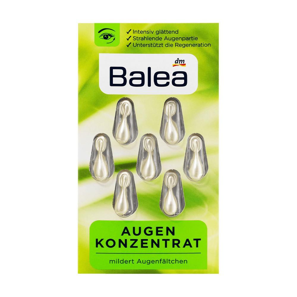 德國 Balea 芭樂雅 眼部保濕精華球 7st / DM (DM519) 精華膠囊 時空膠囊