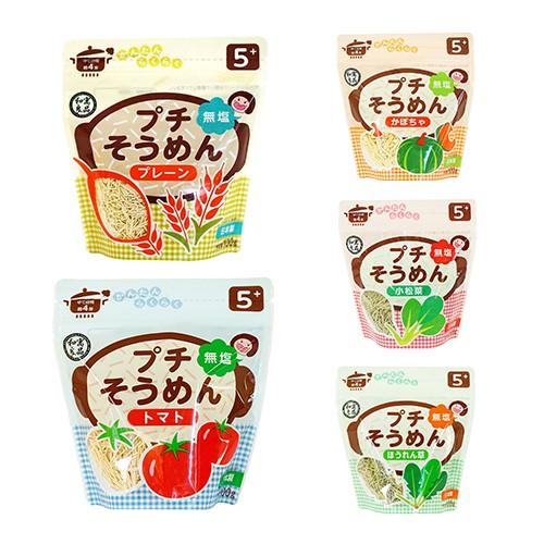 日本 和寓良品 寶寶細麵100g (5M) (5款可選)