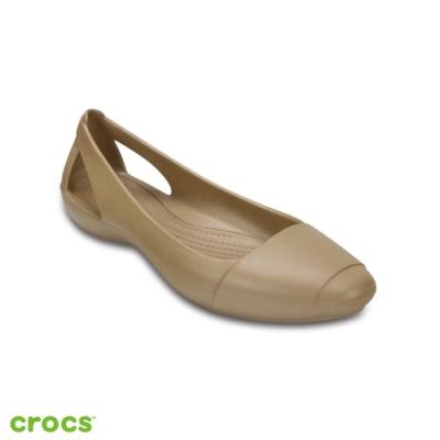 Crocs 卡駱馳 (女鞋) 仙安娜女士平底鞋 202811-710