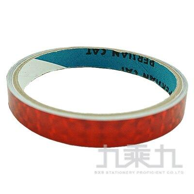 大雷射膠帶 12M/M 紅色
