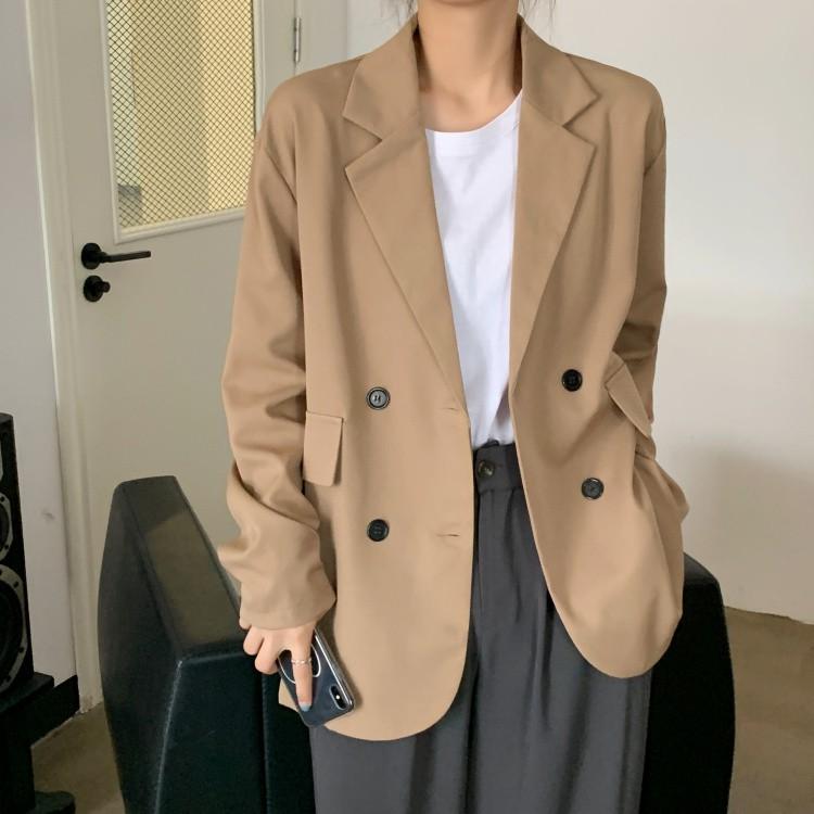西裝外套女韓版寬松設計感小個子職業西服上衣