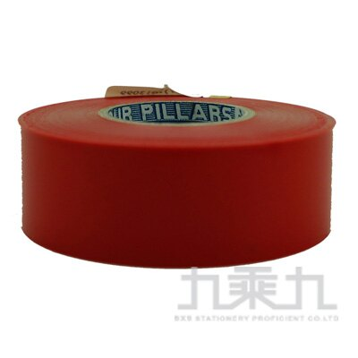 R-電力膠帶IA80 25mmX18.3M(紅)