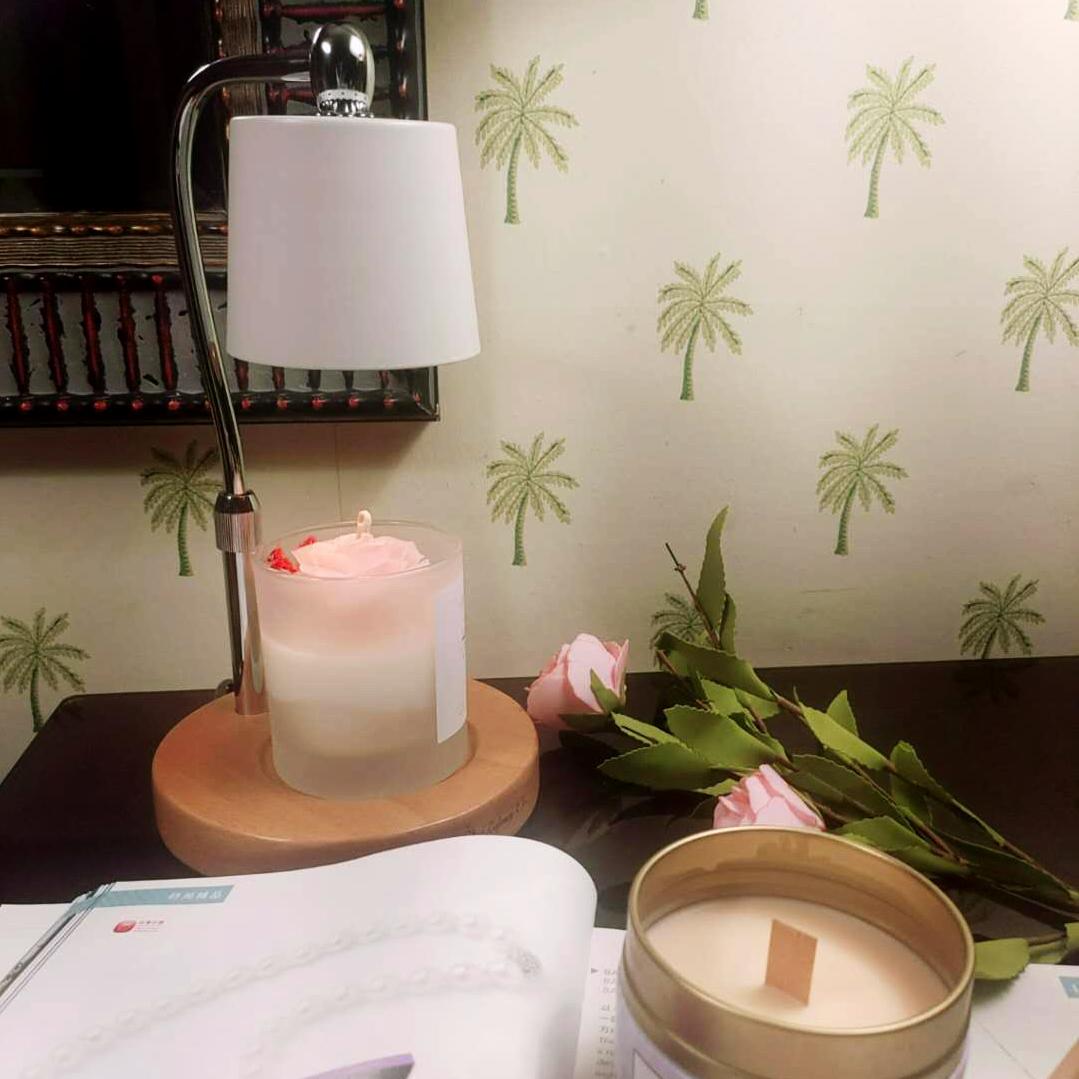 洛帆晞ins韓風融燭燈/融蠟燈-純潔白融燭燈