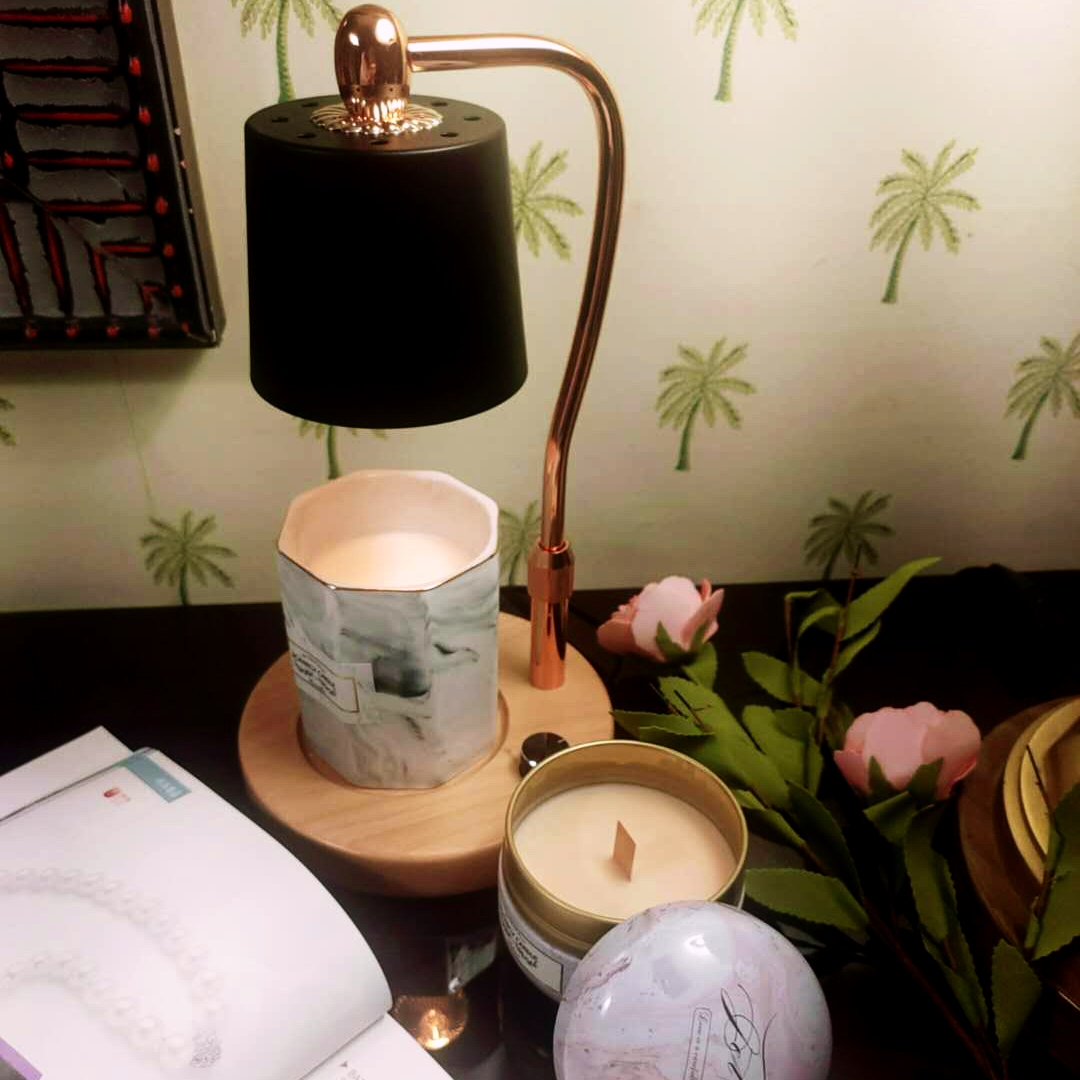 洛帆晞ins韓風融燭燈/融蠟燈-伯爵黑融燭燈