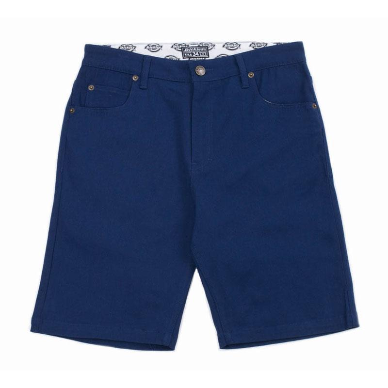 超低價!!【DICKIES】WS802 中低腰直筒斜紋布木匠 短褲 (藍色)