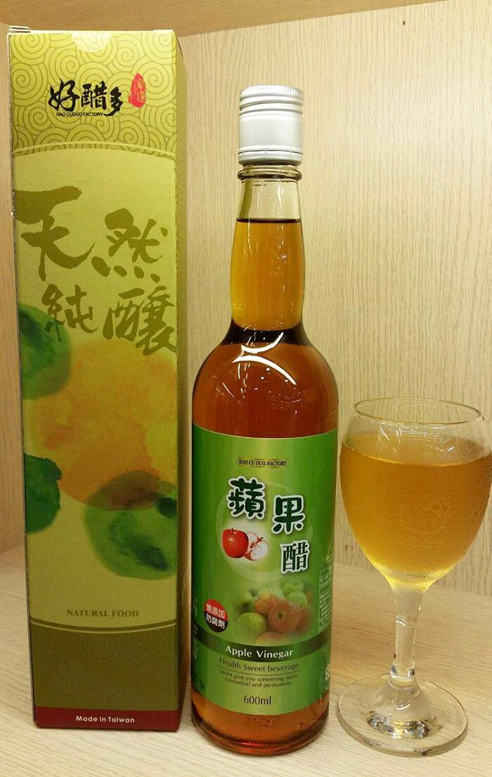 【好醋多工坊】蘋果醋 調理醋 600ml