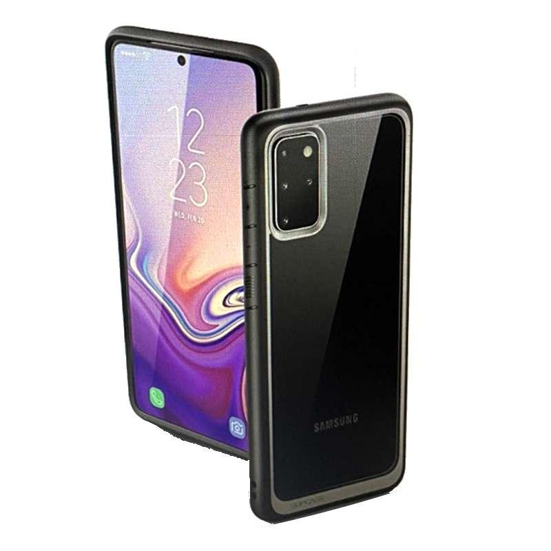 [9美國直購] SUPCASE UB 系列 Galaxy S20 Plus手機保護殼 Premium Hybrid Protective Clear Case 黑 B083JRZG22