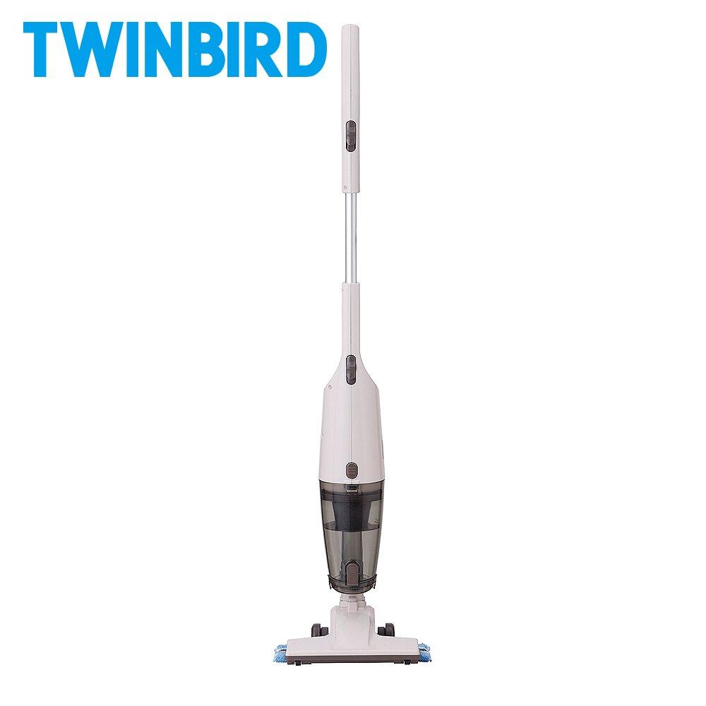 日本TWINBIRD-吸拖兩用無線吸塵器(象牙白)TC-H107TWVO