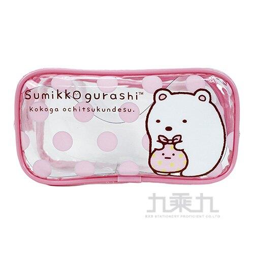 角落小夥伴旅行造型盥洗袋2 - 粉紅