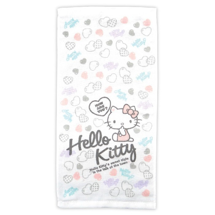 Hello Kitty紗蘿童巾【康是美】