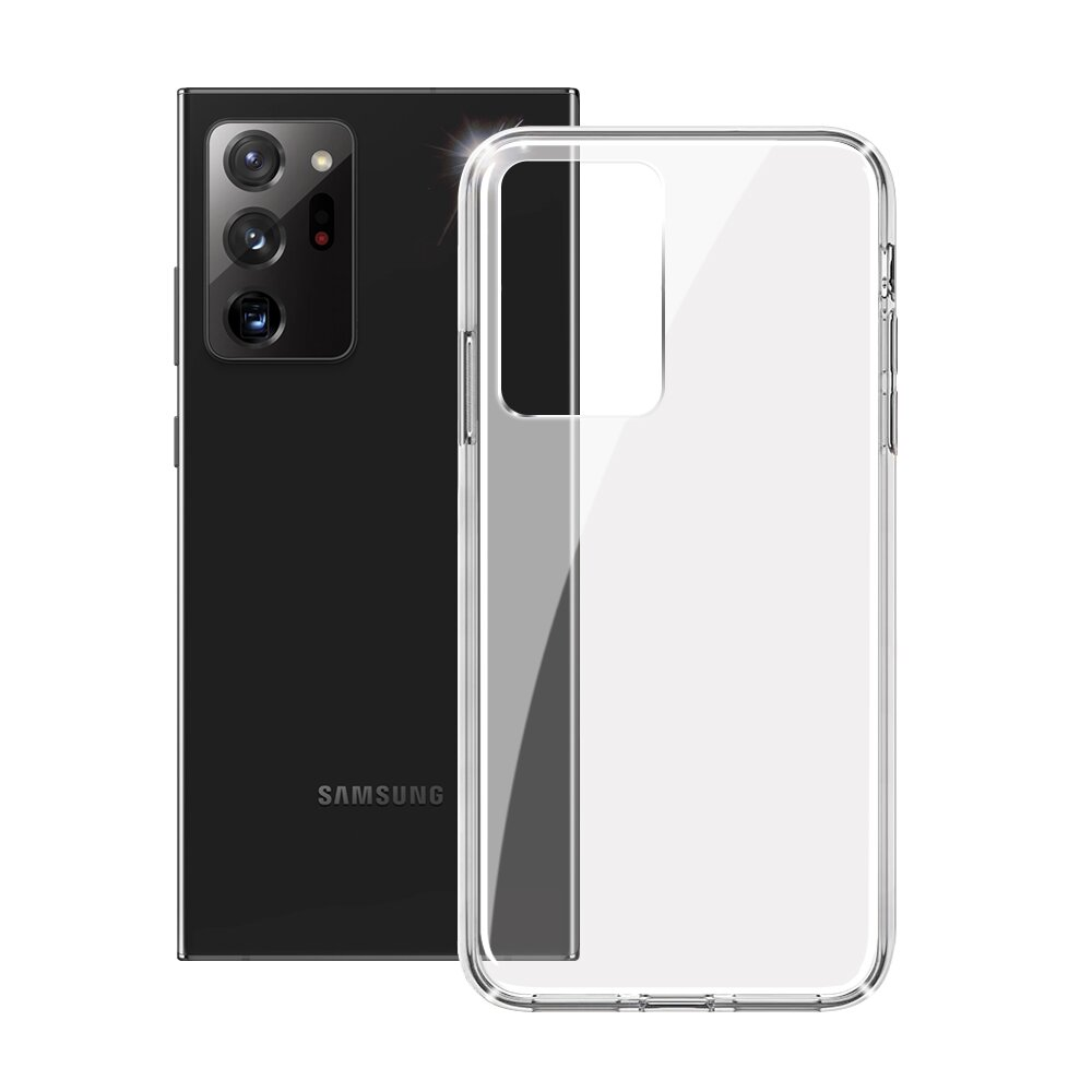 ACEICE for 三星 Samsung Galaxy Note 20 Ultra 全透晶瑩玻璃水晶防摔殼