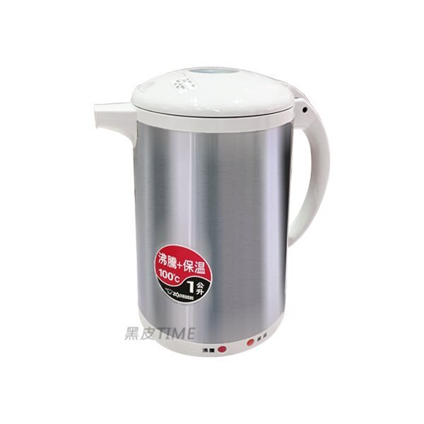 ZOJIRUSHI 象印 CH-DWF10-HC 寬沸騰電氣熱水瓶 1.0L 黑皮TIME 原廠保固 06959