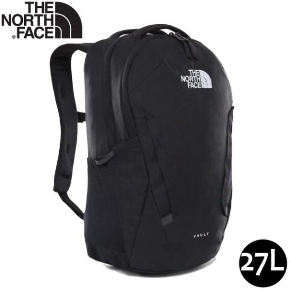 【The North Face 27L 手提後背包《黑》】3VY2/多功能休閒背包/電腦背包/學生書包