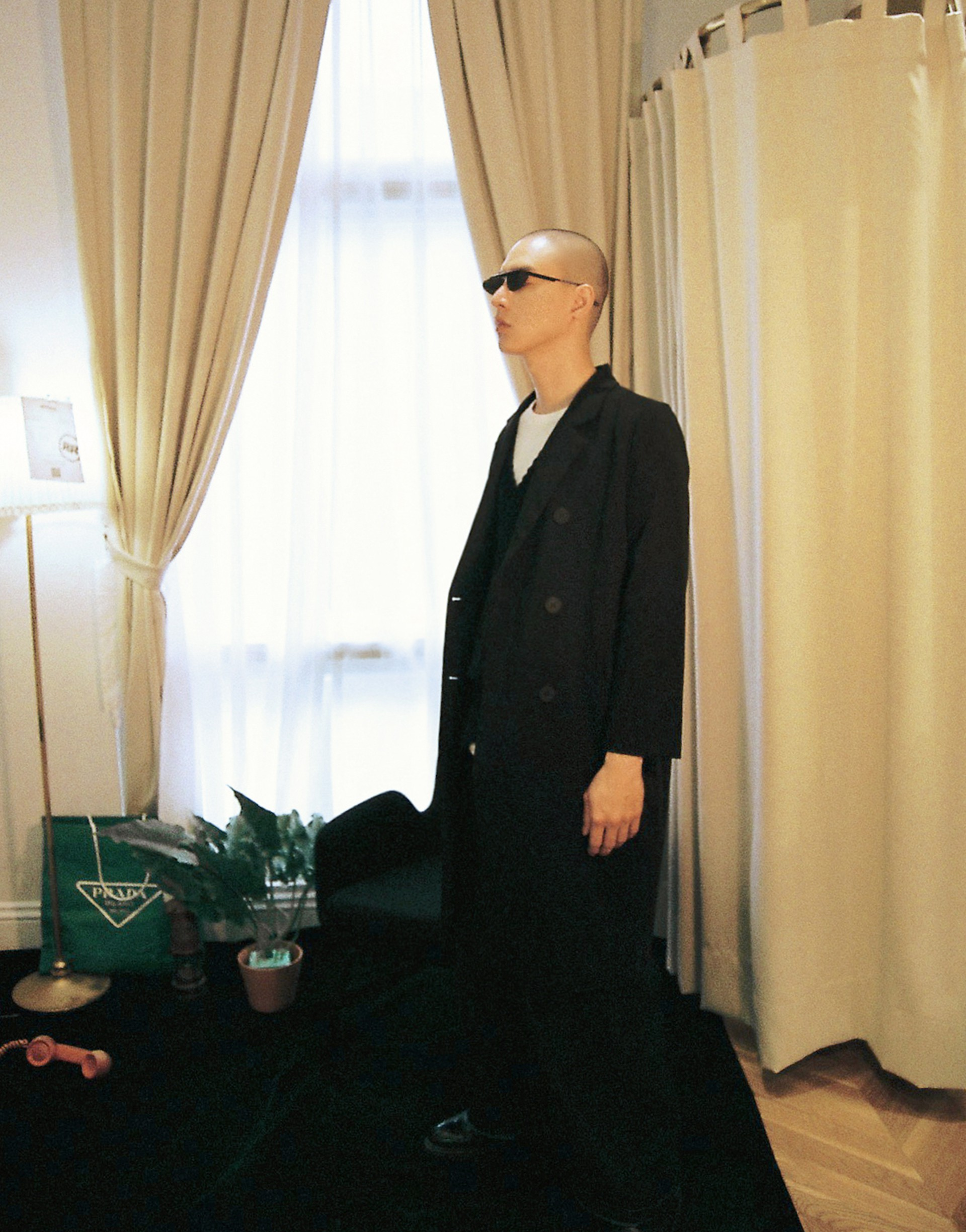 PAZZO+MORE REAL 時髦長版西裝外套(楊丞琳限定款)